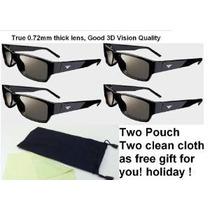 Vizio Xpg202 Cine En 3d Pasivas 3d Gafas-pack De 4
