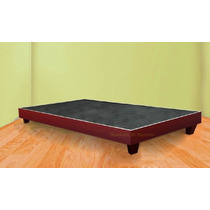 Base / Cama Tamaño King Size Color Caoba En Monterrey