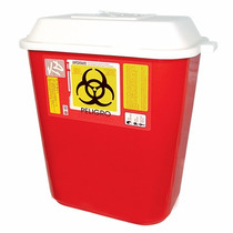 Bote Para Residuos Punzocortantes Biologicos Infeccioso 30l.