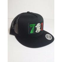 3450c908de28 Gorra Yupoong Chapo Guzman 701 Chaparrito Mexico Negra Truck en ...