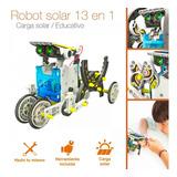 Kit Robot Solar Armable 13 En 1 Juguete Educativo