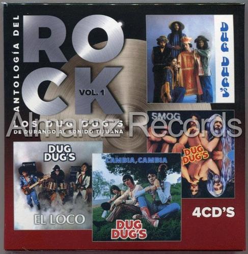 Antologia Del Rock Vol. 1 4cd - Los Dug Dug's