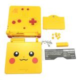 Carcasa Game Boy Advance Sp Edicion Pokemon Pikachu Gba Sp