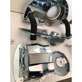 Kit Tolvas Cromada Fuel Inyection Con Ductos Vocho Con Comal