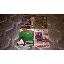 Revistas De Coleccion De Los Mundiales De Futbol