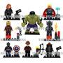 Set 8 Figuras Marvel Avengers Era De Ultron Compatible Lego