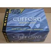 Clifford Matrix Rs 2.1 Alarma Para Auto Con Arrancador