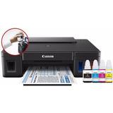 Impresora Color Canon G1100 Pixma Tinta Continua Usb 8.8 Ppm