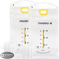 Medela Pump & Save Leche Materna Bolsas - Paquete De 50 (set