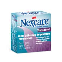 Cinta Transp Primeros Auxilios Curacion Transpore Nexcare 3m