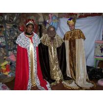 Reyes Magos Disfraz Tres Trajes $7500.00