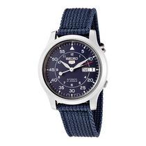Relojes Seiko 5 Sport Military Automáticos Lona Wr30m