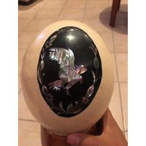 Huevo De Avestruz Con Dibujo