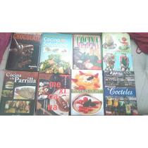 Lote 8 Libros Gastronomia Regalo Chef Chocolate Postre Light