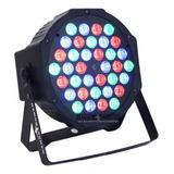 Cañon Par64 De Leds 36x1 Audioritmico Dmx Automatico Luz