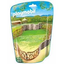 Playmobil 6656 Jaula D Zoologico Animal Rejas Retromex