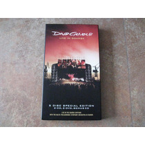 Box Set David Gilmour, Live In Gdansk 5 Disc Special Edition