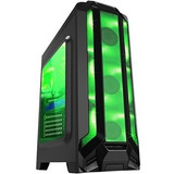 Gabinete Gamer Atx Eagle Warrior Robot Q 3 Fan Led Usb 3.0