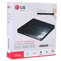 Quemador Grabador Tv Conecta Lg Gp60nb50 8x Dvd±rw M-disc