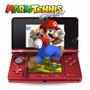 Nintendo 3ds Xl Juego Mario Tennis Bundle Reacondicionado