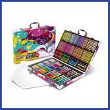 Kit Crayolas Dibujo Plumon Arte 140 Piezas * Envío Gratis