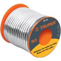Soldadura Nucleo De Resina 95/5 Tuberia De Gas Truper 14367