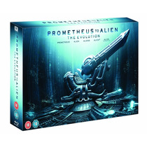 Prometeo To Alien Prometheus Boxset The Evolution Bluray 3d