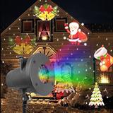 12 Patrones Mini Luces De Navidad Al Aire Libre Proyector Lá