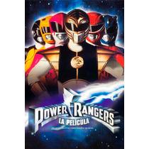 Power Rangers Pelicula 1995 Poster 30x46cm Retro