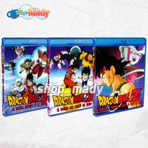 Paquete Tres Peliculas De Dragon Ball Z Blu-ray Multiregión
