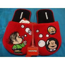22-26 Pantuflas Mafalda Quino Originales Pago A Meses Cynld