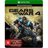 Gears Of War 4 Ultimate Edicion Español Fisico En Game Star