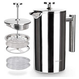 French Press Coffee Maker 304 Grade Stainless Steel Insul45