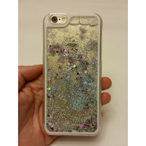 Case Diamantina / Agua Iphone 6 Plus