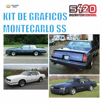 Stickers Calcomanias Para Chevrolet Montecarlo
