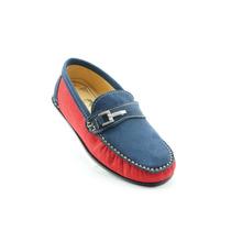 Blackmont Zapato Casual Para Niño Rojo Marino