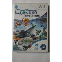 Wii My Sims Sky Heroes $250 Pesos - Seminuevo Vendo / Cambio