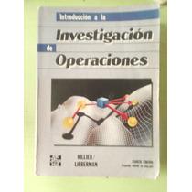 Investigacion De Operaciones Hillier Lieberman