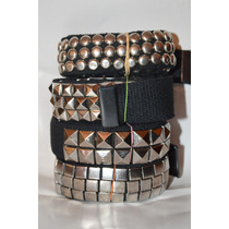 Cinturones Estoperoles Circulares Cuadrados Balas