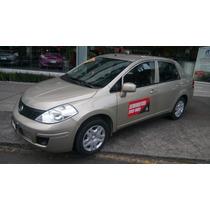 Nissan Tiida Sedan Sense 2014 Automatico Aire Acondicionado