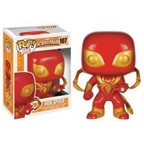 Funko Pop Iron Spider Man Exclusivo Hombre Araña Spidey