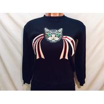 Busca Gucci negra estampado de gato con los mejores precios del ... 115b7b1a31d