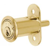 Cerradura Para Mueble Tipo Boton Laton Hermex 43569