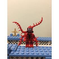 Lego Carnage Original Completo Marvel Rojo