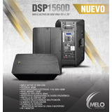 Bafle Melo Dsp1560d 600w Nuevo Envio Gratis
