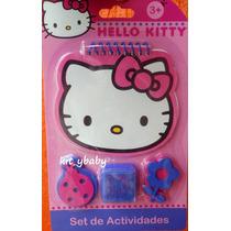Fiesta De Hello Kitty, Set Arte, Pizarrón, Libreta, Folder