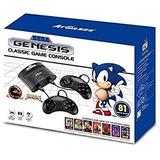 Consola Sega Genesis Con 81 Juegos Sellado + Envio Gratis