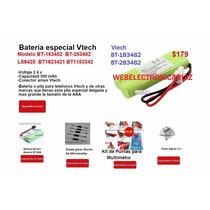 Bateria Para Telefonos Vtech Bt283482 Pila Vtech Bt183482
