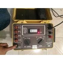 Medidor Digital De Resistencia De La Tierra Aemc Modelo 4500