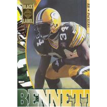 1995 Edge Black Label Edgar Bennett Rb Packers